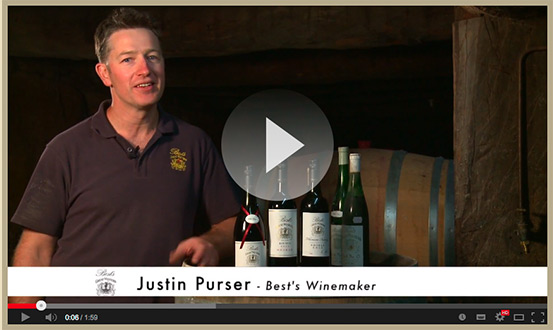 Justin Purser – Best's Winemaker, Youtube video